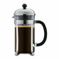 Bodum Chambord stempelkande med kaffe