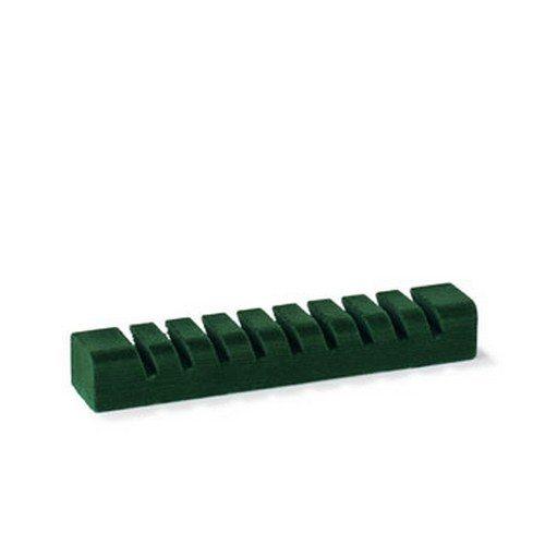 Bestikholder grøn filt.