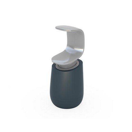 C-pump sæbedispenser énhånds - plast grå/lys grå