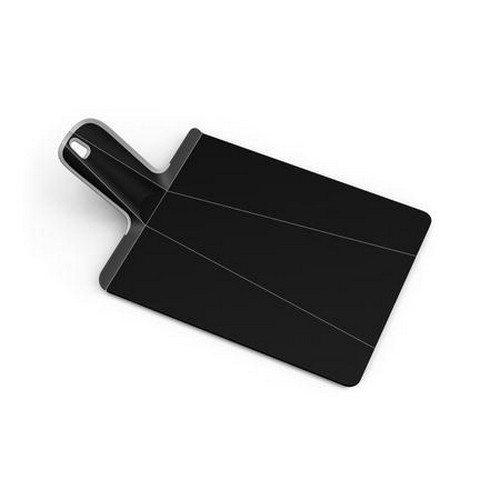 Chop2Pot skærebræt foldbart lille - plast sort