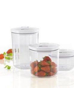 Food sealer canisters 3 beholdere