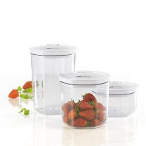 Food sealer canisters 3 beholdere