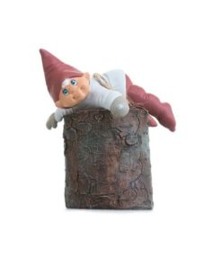 Gunnar på træstup
