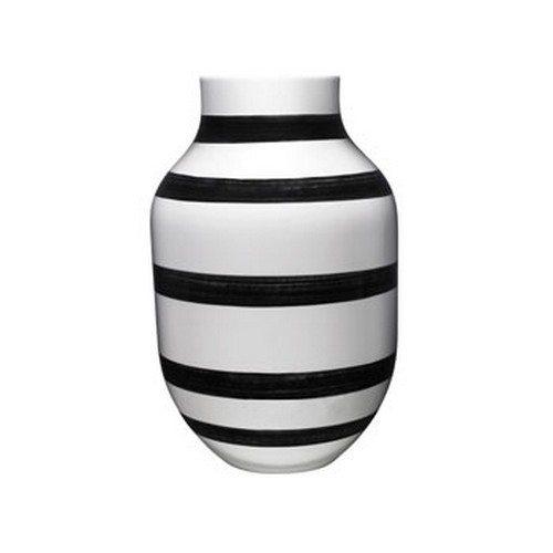 Omaggio vase H305 Ø186mm Sort