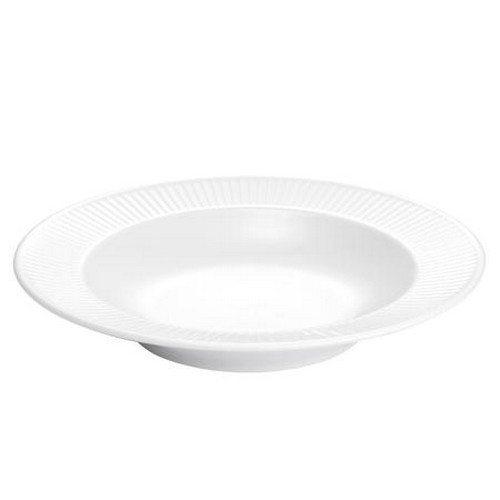 Plissé dyb pastatallerken - 28 cm