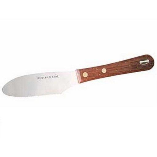 Smørekniv-23cm-teak-Funktion
