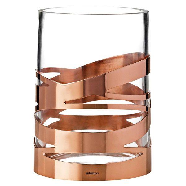 Stelton vase kobber
