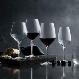 Glas vin, serier