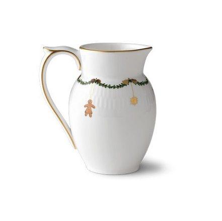 Royal copenhagen stjerneriflet mælke kande