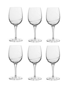 Luigi Bormioli Aero rødvinsglas klar - 36,5 cl 3