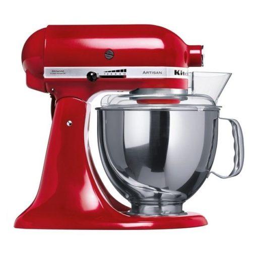 kitchenaid artisan køkkenmaskine rød