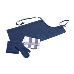 Pillivuyt tekstilsæt blå