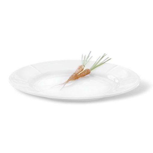 Grand Cru tallerken i 23 cm fra Rosendahl, som både ergod til frokost, forret og en let middag.