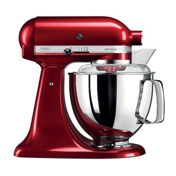 KitchenAid Artisan køkkenmaskine i rød - Stort udvalg af røremaskiner her!