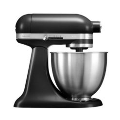 KitchenAid Mini køkkenmaskine mat sort - 3,3 liter -