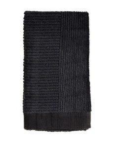 Zone håndklæde sort 50x100 sort