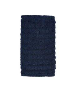 Royal blå håndklæde