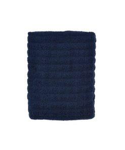 Royal blå badehåndklæde