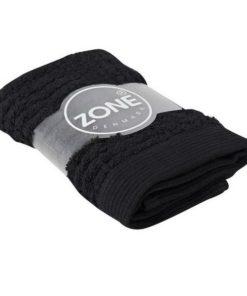 Zone vaskeklud - sort