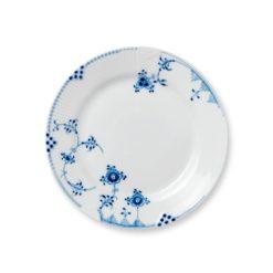 Blå Elements tallerken 22 cm.