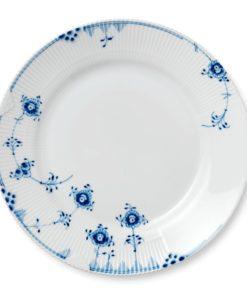 Blå Elements tallerken 28 cm.