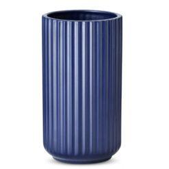 blå Lyngby vase