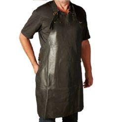 Sort Læderforklæde fra Da'core