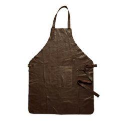 Brunt læderforklæde fra Da'core2