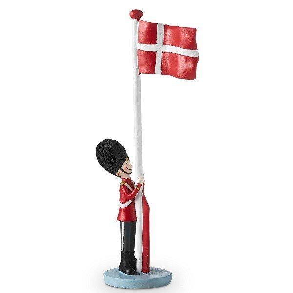 Kendte Soldat med dannebrog - Bordflag til fødselsdagsbordet DN-68