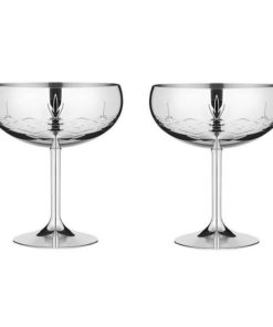 Gatsby glas i rustfrit stål Frederik Bagger