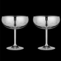 Frederik Bagger Gatsby glas i rustfrit stål