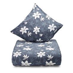 Nordisk Tekstil sengesæt lilje blå 140x200