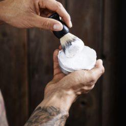 Shaving soap miljo