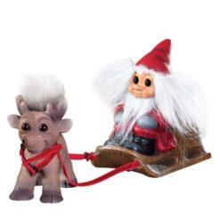 Julemanden med rensdyret Brave