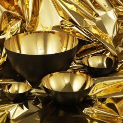 Krenit skål (Guld)