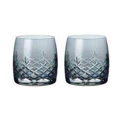Crispy sapphire vandglas