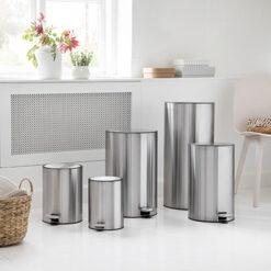 COMO affaldsspande - Steel-Function