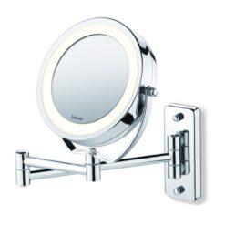 Spejl til væg (Med lys)