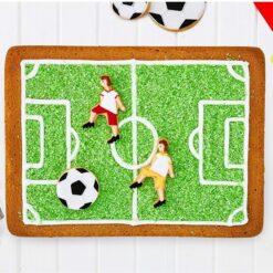Fodboldbane bageform