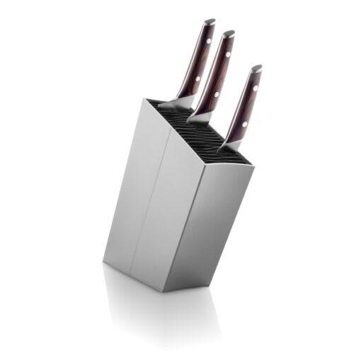 Skrå Knivblok (Grå)